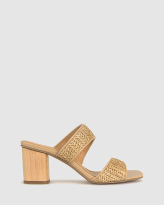 betts Women's Heeled Sandals - Kiera Block Heel Mules - Size One Size, 7 at The Iconic