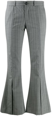 Each X Other Striped Kick-Flare Trousers
