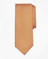 Brooks Brothers Panama Hat Print Tie