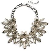 Natasha Faceted Floral Beads Necklace- 16in