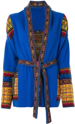 Etro Pattern-Trimmed Cardigan