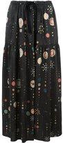 Isabel Marant 'Owel' skirt - women - Silk/Cotton - 36