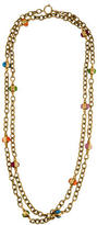 Chanel CC Beaded Chain Necklace