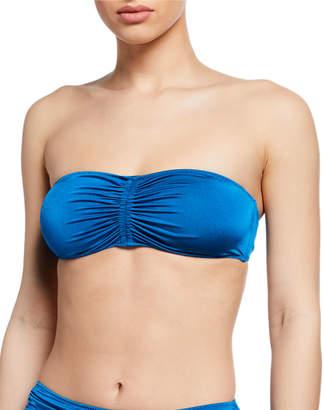 Stella McCartney Ballet Ruched Bandeau Bikini Top