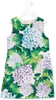 Dolce & Gabbana floral print dress - kids - Silk/Cotton/Viscose - 8 yrs