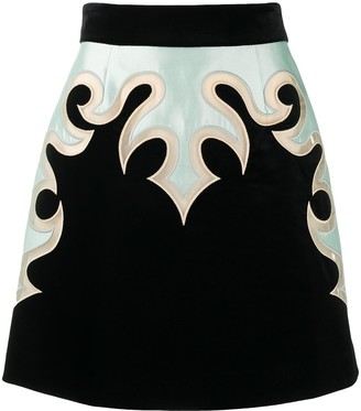 Zimmermann Western-panel mini skirt