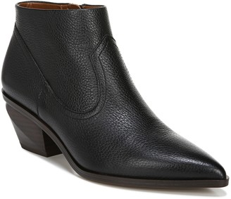 Franco Sarto Leather Western Booties - Simply2