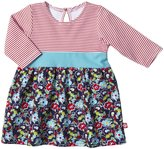 Zutano Oopsie Daisy Dress (Baby)-Navy-6 Months