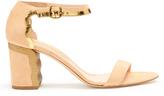 Rupert Sanderson Suede block-heel sandals