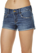 Billabong Get Down Womens Denim Short Blue