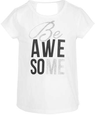 Ideology Toddler Girls Keyhole Back T-Shirt
