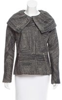 Lela Rose Tweed Wool Jacket