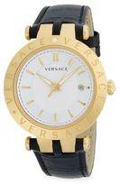 Versace Medusa Goldtone Stainless Steel Bracelet Watch
