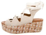 See by Chloe Suede Wedge Sandals w/ Tags