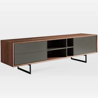 "west elm Walnut + Lacquer 71"" Media Console"
