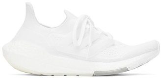 adidas White Ultraboost 21 Sneakers