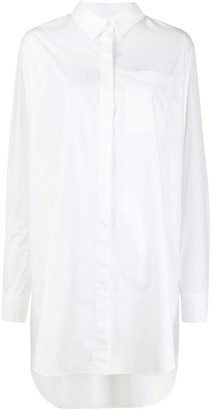 Karl Lagerfeld Paris Embellished Logo Shirt