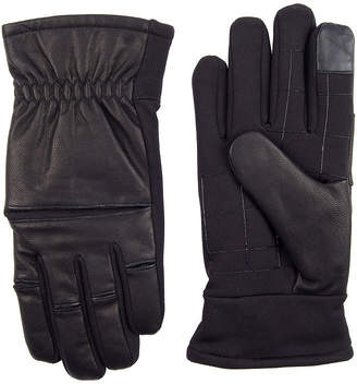 EXACT FIT Exact Fit Leather Stretch Knuckle Men's Glove