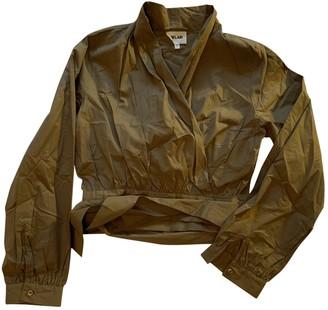 Bel Air Khaki Cotton Top for Women