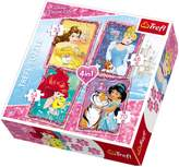 Disney Princess 4 in 1 Disney Princess Puzzle