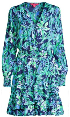 Lilly Pulitzer Cristiana Smocked Dress