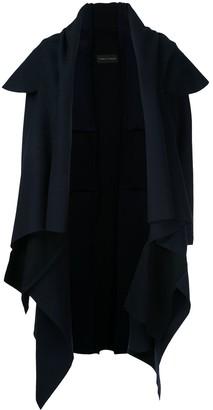 Comme Des Garçons Pre-Owned Felt Cross Coat