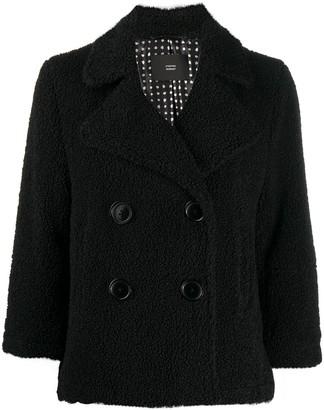 Steffen Schraut Double-Breasted Textured Jacket