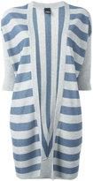Lorena Antoniazzi striped cardigan - women - Polyester/Viscose - 40