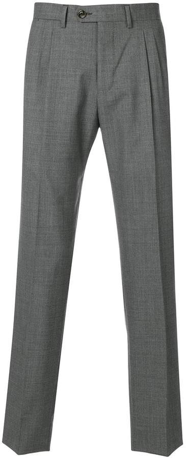 Eleventy pleated front trousers