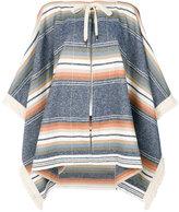 See by Chloe zipped poncho - women - Cotton/Acrylic/Polyamide/Wool - XS/S