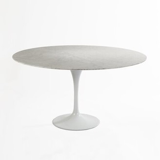 George Oliver Bessemer Marble Dining Table Size: 54'' L x 54'' W