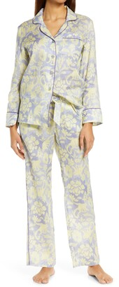The Lazy Poet Emma Sleepy Monkey Linen Pajamas