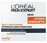 L'Oreal Men Expert Hydra Energetic Daily Intensive Moisturiser Pot (50ml)