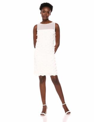 Karl Lagerfeld Paris Women's 3D Applique Shift Dress