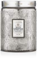 Voluspa White Currants & Alpine Lace Large Glass Candle - 100% Exclusive