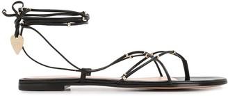 Gianvito Rossi Strappy Flat Sandals