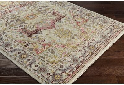 Bloomsbury Market Ashok Oriental Hand Knotted Wool Beige Gray Brown Area Rug Rug Size Rectangle 5 6 X 8 6 Shopstyle