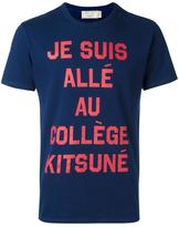MAISON KITSUNÉ 'College' T-shirt - men - Cotton - M
