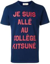 MAISON KITSUNÉ 'College' T-shirt