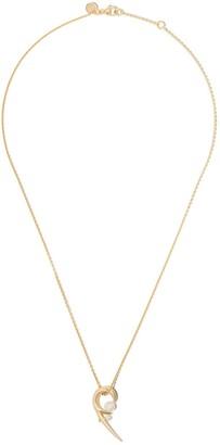 Shaun Leane 18kt gold vermeil Cherry Blossom pearl pendant necklace