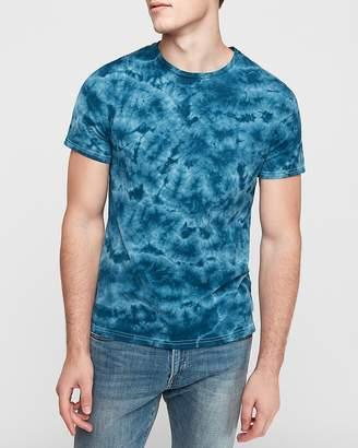 Express Crew Neck Tie Dye T-Shirt