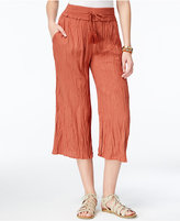 American Rag Crinkled Gaucho Pants, Only at Macy's