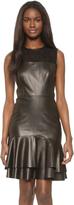 Jason Wu Leather Sleeveless Dress