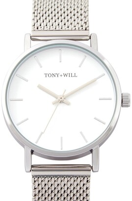 TONY+WILL Small Classic Silver TWM004D Watch