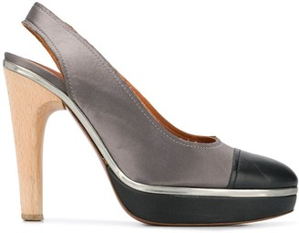 Lanvin Pre Owned 2009's two-tone pumps