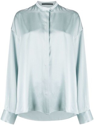 Haider Ackermann Mandarin Collar Shirt