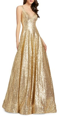 Mac Duggal Sequin Ball Gown