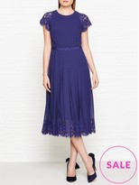 Paul Smith Lace Sleeve Cocktail Dress