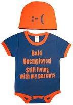 """Sozo Baby Still Living With My Parents"""" Bodysuit Set"""