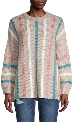 70/21 Textured Striped Sweater